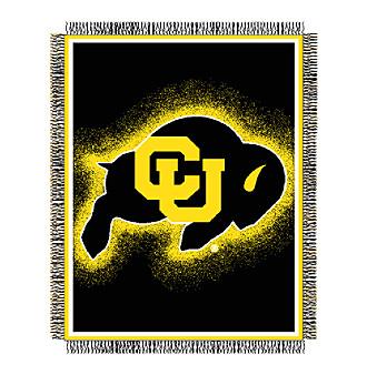 University of Colorado Logo Throw