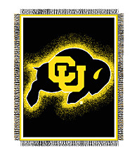 University of Colorado Logo Throw