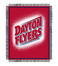 University of Dayton Logo Throw