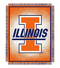 University of Illinois Logo Throw