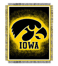 University of Iowa Logo Throw