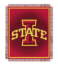 Iowa State University Logo Throw