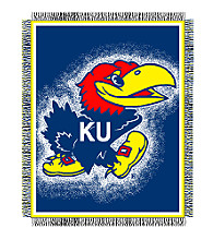 University of Kansas Logo Throw