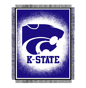 Kansas State University Logo Throw