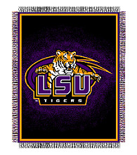 Louisiana State University Logo Throw