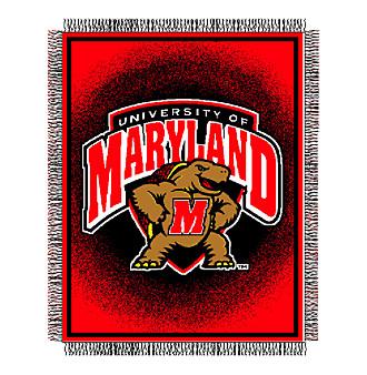 University of Maryland Logo Throw