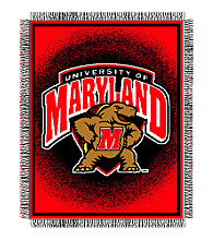 University of Maryland Logo Throw