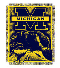 University of Michigan Logo Throw
