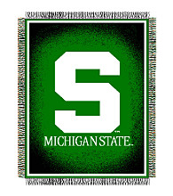 Michigan State University Logo Throw
