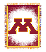 University of Minnesota Logo Throw