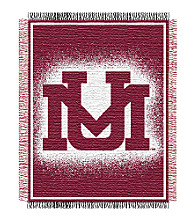 University of Montana Logo Throw