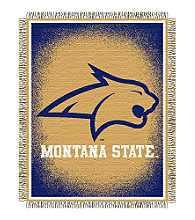 Montana State University Logo Throw