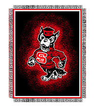 North Carolina State University Logo Throw