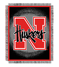 University of Nebraska Logo Throw