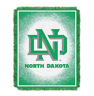 University of North Dakota Logo Throw