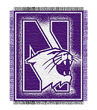 Northwestern University Logo Throw