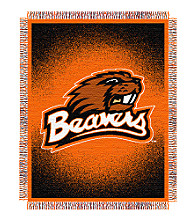 Oregon State University Logo Throw