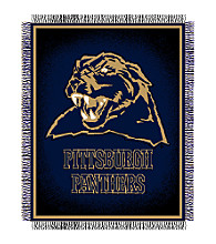 University of Pittsburgh Logo Throw