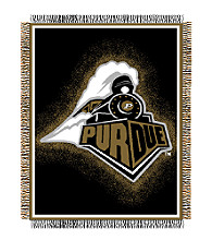 Purdue University Logo Throw