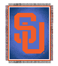 Syracuse University Logo Throw