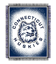 University of Connecticut Logo Throw