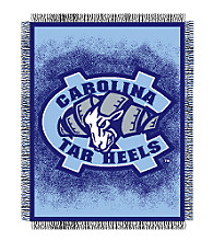 University of North Carolina Logo Throw