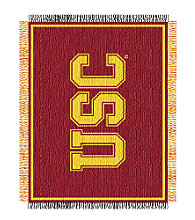 University of Southern California Logo Throw