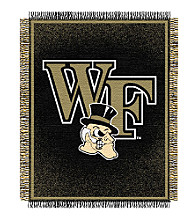 Wake Forest University Logo Throw