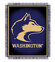 University of Washington Logo Throw