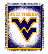 West Virginia University Logo Throw