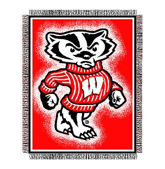 University of Wisconsin Logo Throw