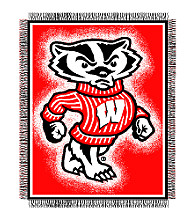 University of Wisconsin Logo Throw