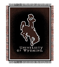 University of Wyoming Logo Throw