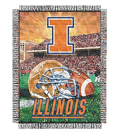 NCAA® University of Illinois Home Field Advantage Throw