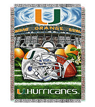 University of Miami Home Field Advantage Throw