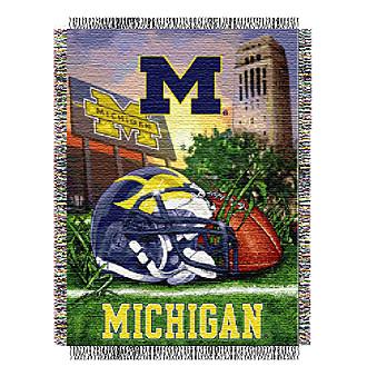 University of Michigan Home Field Advantage Throw