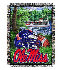 NCAA® University of Mississippi Home Field Advantage Throw