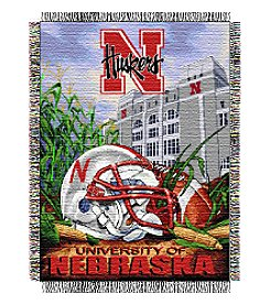 University of Nebraska Home Field Advantage Throw