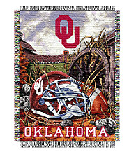 Oklahoma University Home Field Advantage Throw