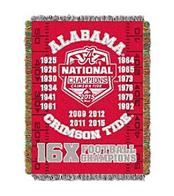 NCAA® University of Alabama Commemorative Throw