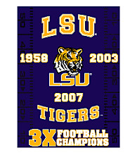 Louisiana State University Commemorative Throw