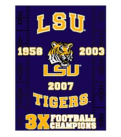 NCAA® Louisiana State University Commemorative Throw