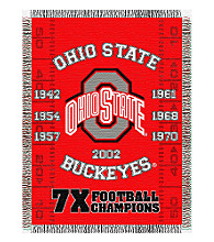 Ohio State Commemorative Throw