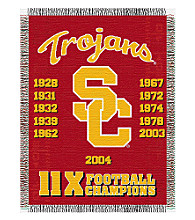 University of Southern California Commemorative Throw
