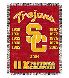 NCAA® University of Southern California Commemorative Throw
