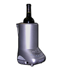 Koolatron™ Single Bottle Wine Cooler - Silver