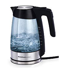 Chef's Choice Cordless Electric 1¾-qt. Glass Kettle