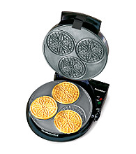Chef's Choice® PizzellePro® Express Bake-3 Pizzelles