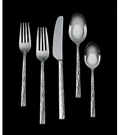 Vera Wang® Hammered 5-Piece Flatware Set