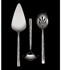 Vera Wang® Hammered 3-Piece Serving Set